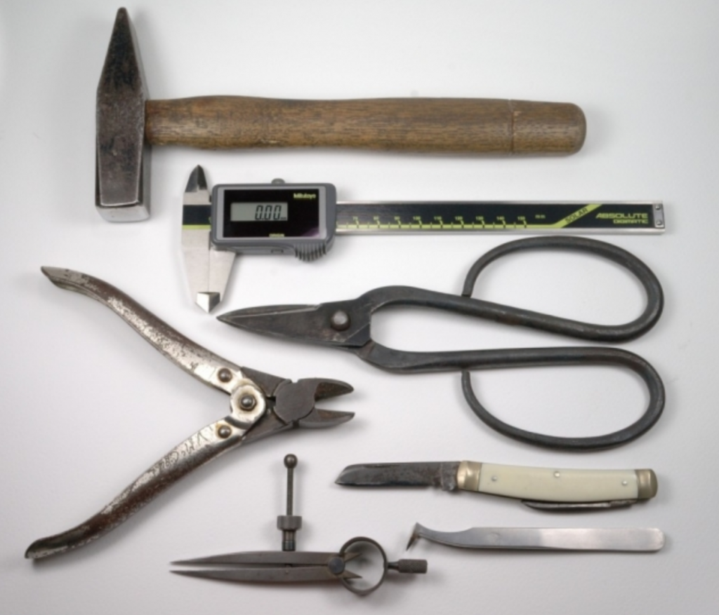 The tools I use & love most each have a story attached. David McCaul